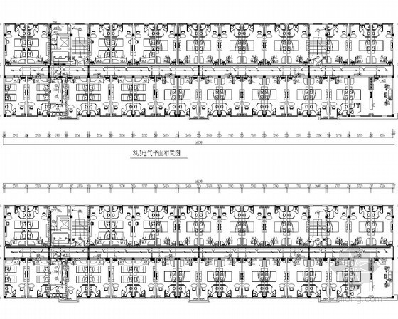 [广西]知名商务连锁酒店水电施工图14张