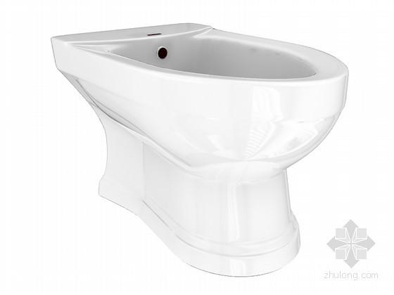卫生间马桶3D模型下载