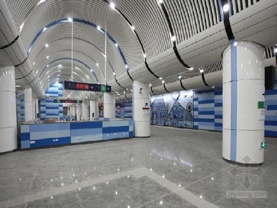 [北京]明挖顺作法箱型框架结构车站及矿山法区间地铁工程施工组织设计321页