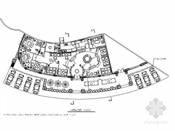 [江西]民族特色会所室内设计方案施工图