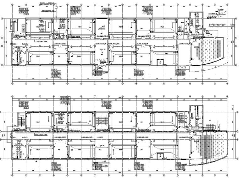[山西]重点中学新校区建筑群全套强弱电图纸(13栋楼、311张)_6