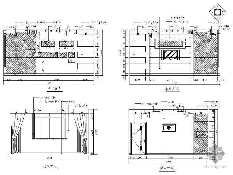 某酒店室内装饰工程施工图(含效果)_2