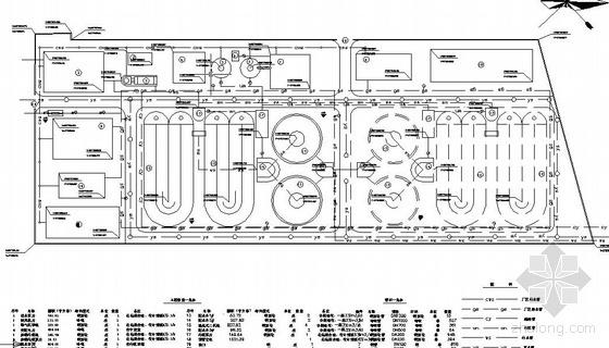 某城市污水处理厂全套设计图(带计算说明书)