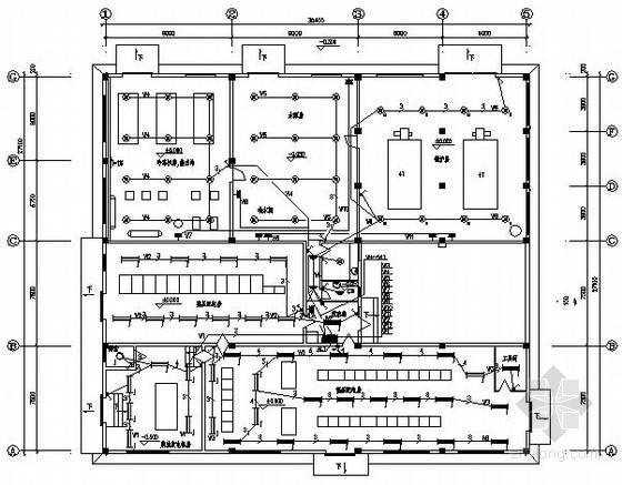 五星宾馆设备用房电气施工图纸