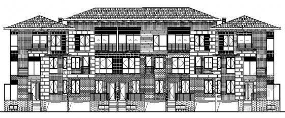 丹堤C区18、26、27号楼建筑施工图