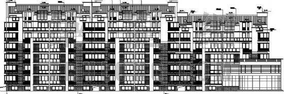 某小区住宅楼建筑施工图