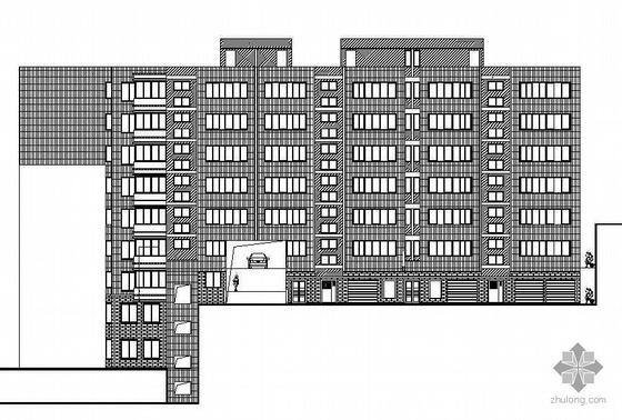 某文化街住宅楼改建工程建筑施工图