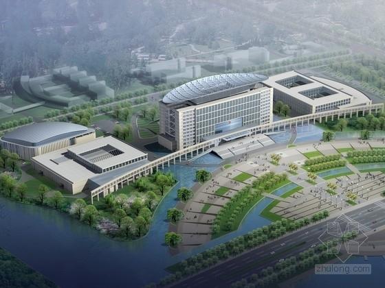 [上海]现代风格办公区规划及单体设计方案文本(含cad ppt)