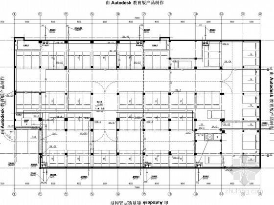[江蘇]中小學校園建筑群給排水消防施工圖