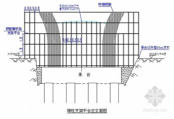 [江苏]高架桥墩柱施工技术方案(含计算书)