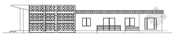 某单层售楼部建筑方案图