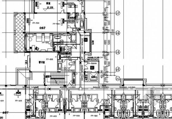 [广东]酒店中央空调通风采暖设计施工图