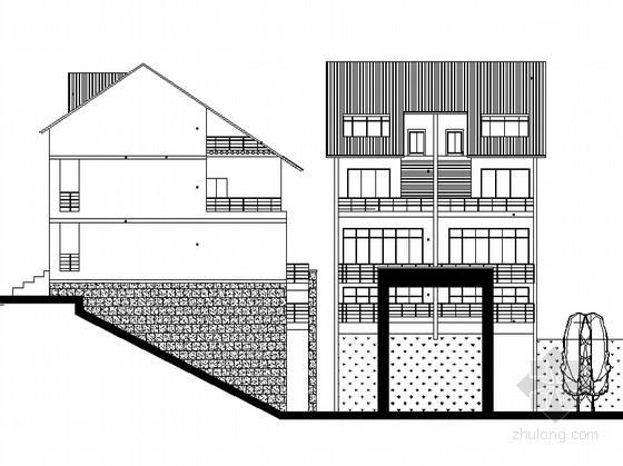 某townhouse住宅单体设计方案一