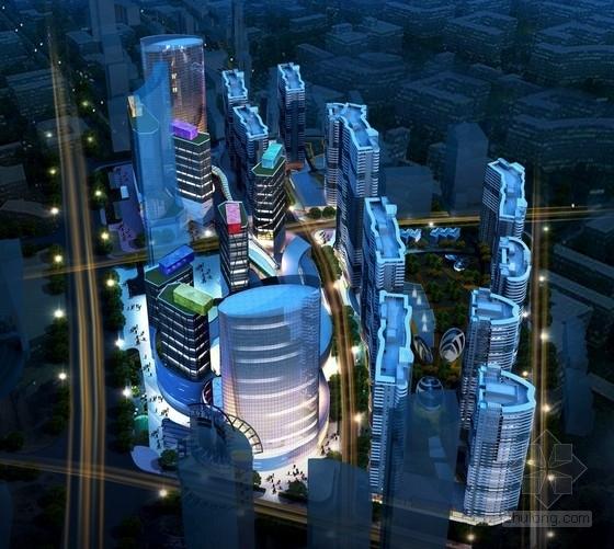 [青岛]某商业广场规划及单体设计方案文本(含ppt)