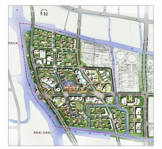 [杭州]炼油厂及周边环境景观设计方案(5份方案)