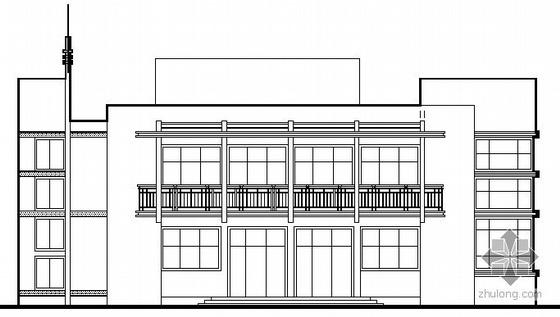 [鹰潭市]某二层办公楼建筑施工图