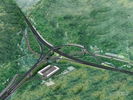 高速公路A型单喇叭互通立交施工组织设计