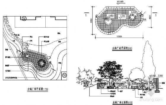 水钵广场详图-4