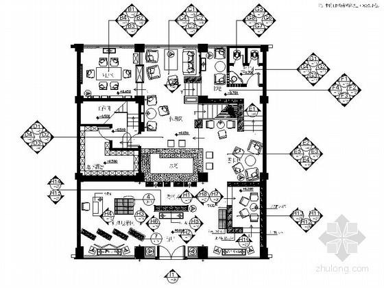 知名红酒会所室内装修图