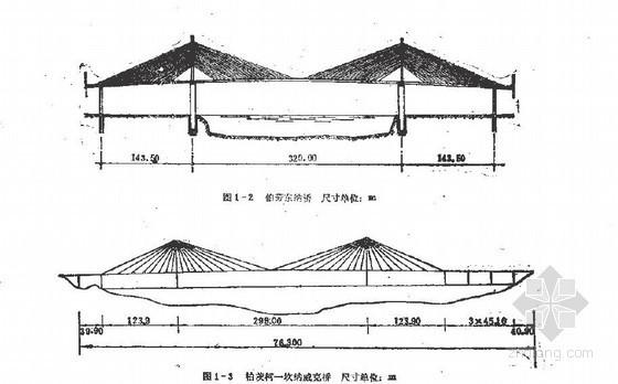 预应力混凝土斜张桥构造与施工技术全解(含结构计算验算)