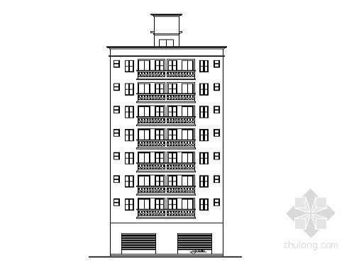 某八层标准农民房建筑施工图