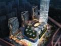 [安徽]47层玻璃幕墙城市综合体建筑设计方案文本