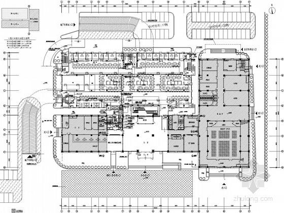[江苏]行政服务中心扩建工程电气施工图(2015年设计)