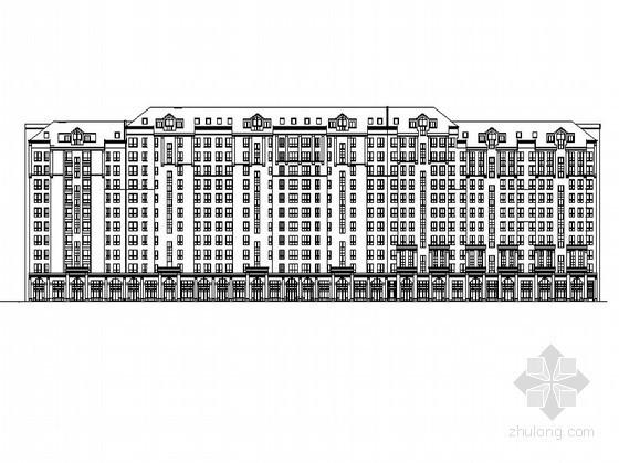 [长春]某花园住宅小区二期单体住宅楼方案(8、9栋)