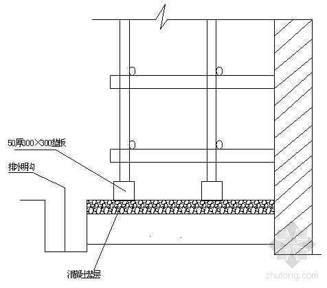 武汉某高层住宅楼工程悬挑式双排钢管脚手架施工方案