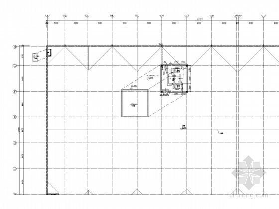 [辽宁]商业楼给排水及消防系统施工图(自动喷淋)