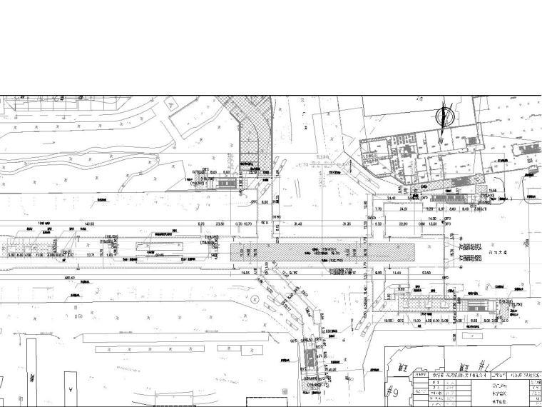 哈尔滨地下两层11米岛式站台地铁车站CAD图纸117张