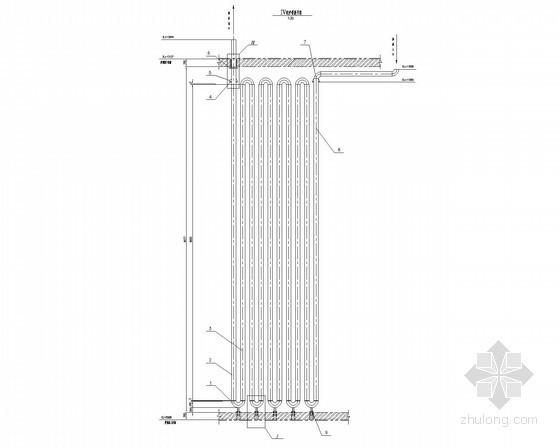 建筑给排水设备安装大样图(38张)-辐射排管
