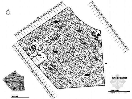 某环球商务中心区(城市综合体7号楼)地下车库楼建筑方案