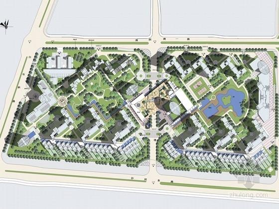 [深圳]滨海花城住宅区景观规划设计方案