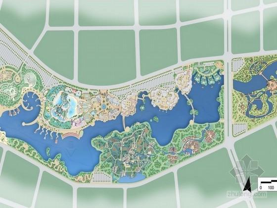 [广西]综合多元娱乐旅游项目景观规划设计方案(国外知名设计所)