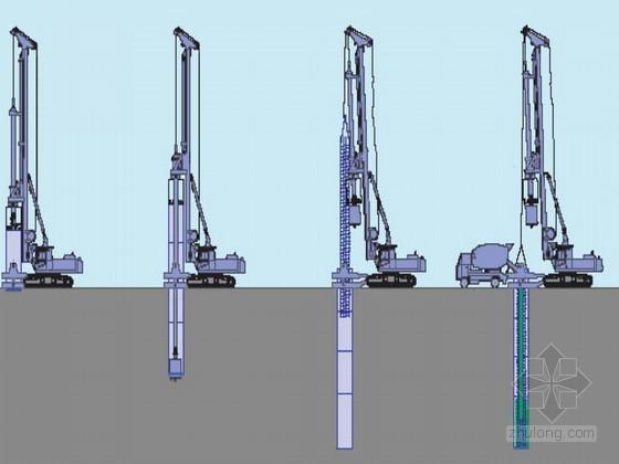 钻孔灌注桩施工方案(磨盘钻机转进成孔)