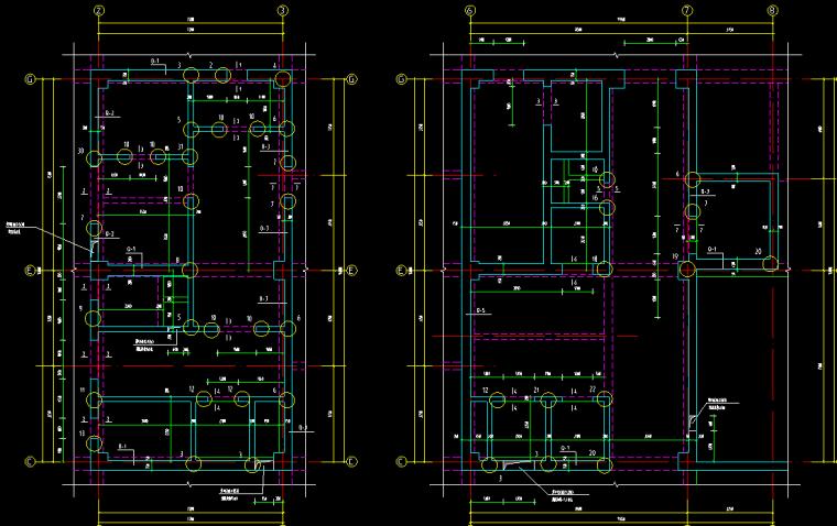 中国气象科技大厦结构施工图