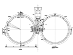 大院设计大直径圆形二沉池结构施工图(CAD、8张)