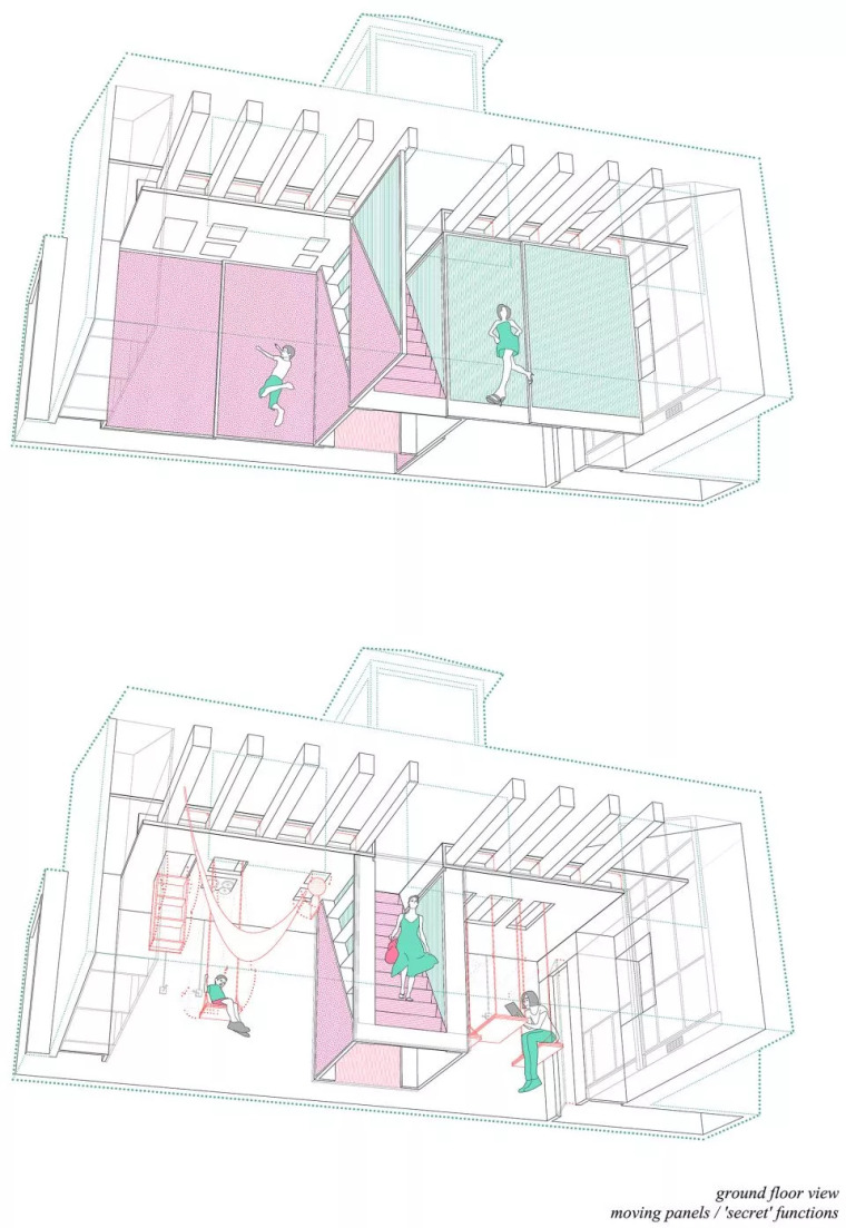 不足60㎡的小空间,如何设计能做到处处高逼格?_4