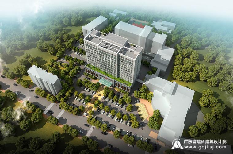 医院综合住院楼建筑设计
