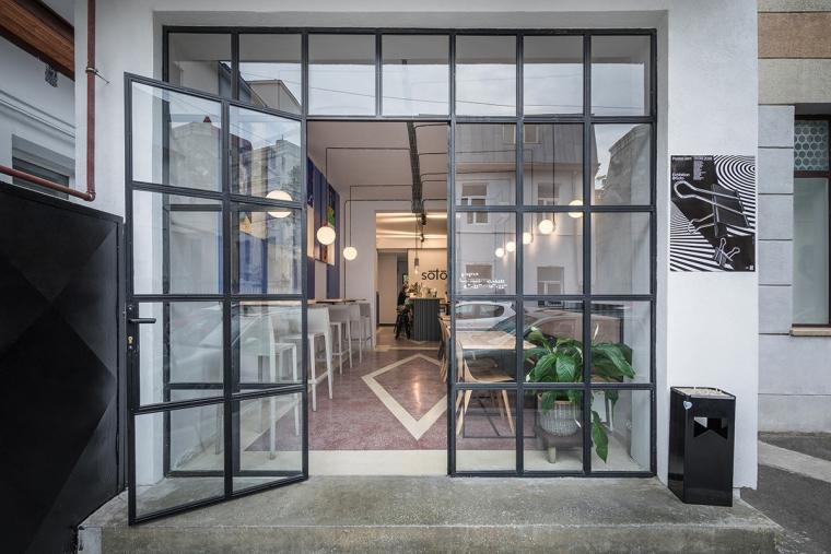 Soto-咖啡馆酒吧,工业和现代简约设计