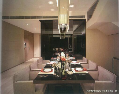 [香港]现代轻奢风格复式楼层装修全套施工图(附效果图)_8