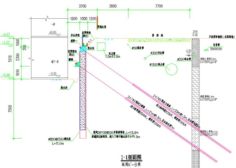 高层厂房土方开挖及基坑支护施工方案