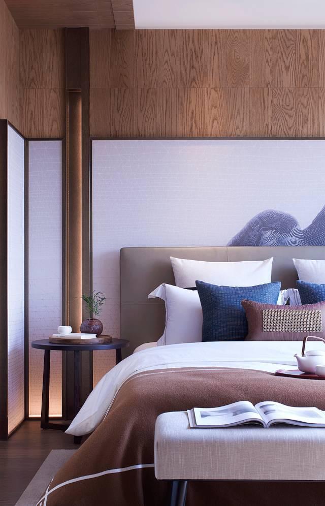 新中式臥室,中國人的臥室