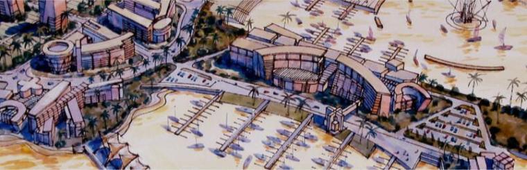 抚州市城市新区中心区控制性详细规划设计方案-02滨江码头区