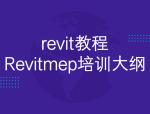 revit教程-Revitmep培训大纲,75页