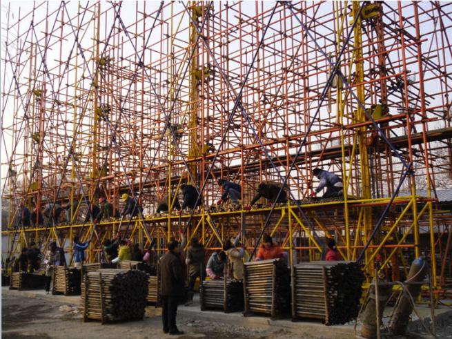《建筑施工安全检查标准JGJ59-2011》宣贯(悬挑脚手架部分)
