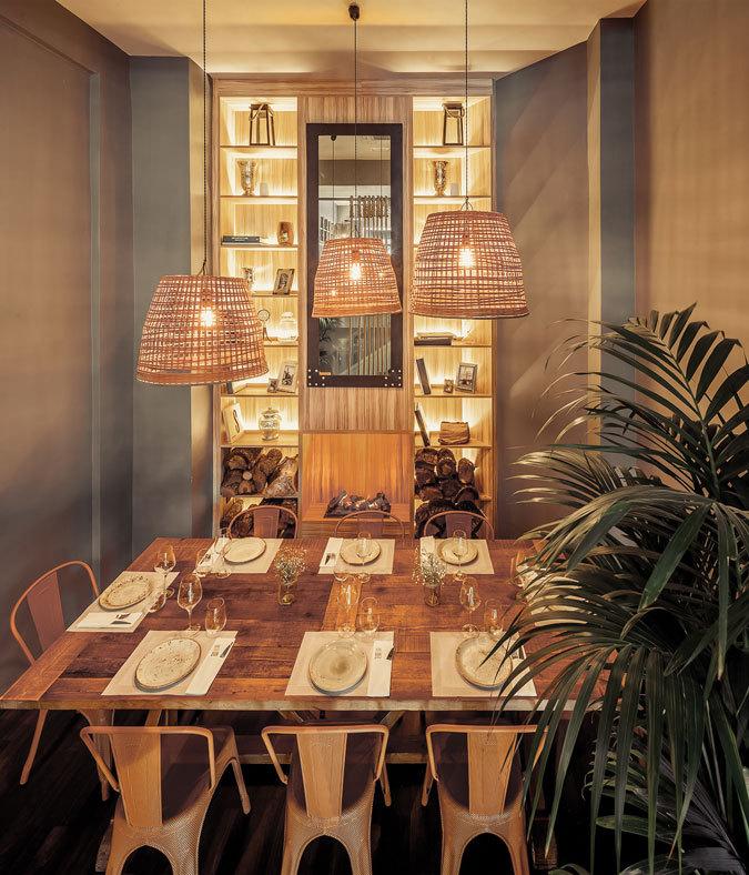 舒适华丽餐厅设计_6
