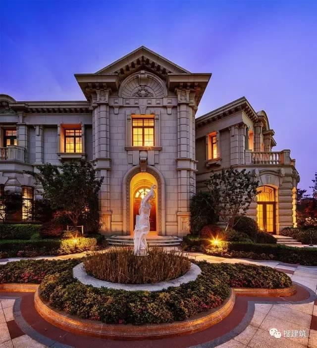 """太猛了!!1430-2650㎡的超大""""城堡""""别墅户型,还有不计成本的"""
