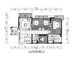 【广东】新中式风格别墅设计CAD施工图(含效果图)